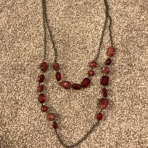Jewelry - Cute red necklace